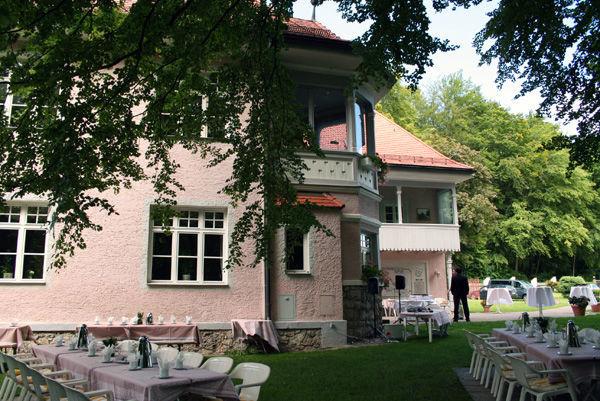 Beispiel: Garten, Foto: Landhaus Lindenhof.