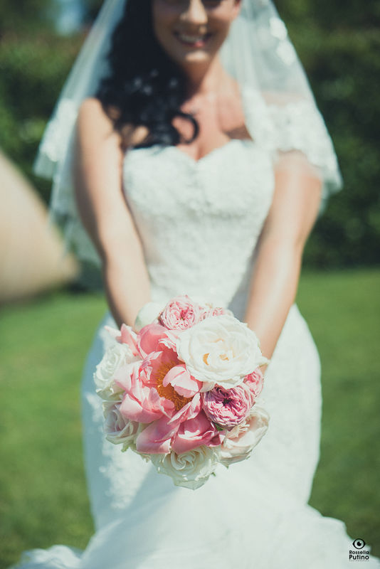 Fiordifragola - bouquet sposa - bride bouquet - Villa Bossi photo By Rossella Putino