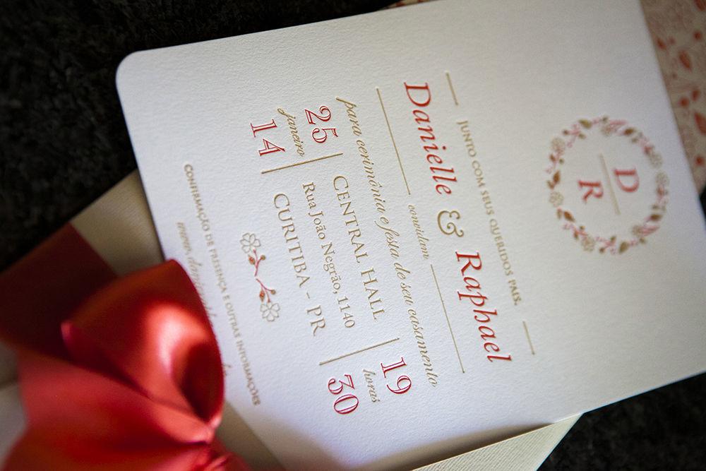 Convite Letterpress