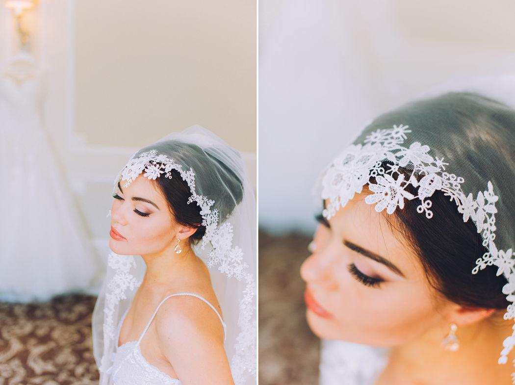 Нежные сборы невесты
