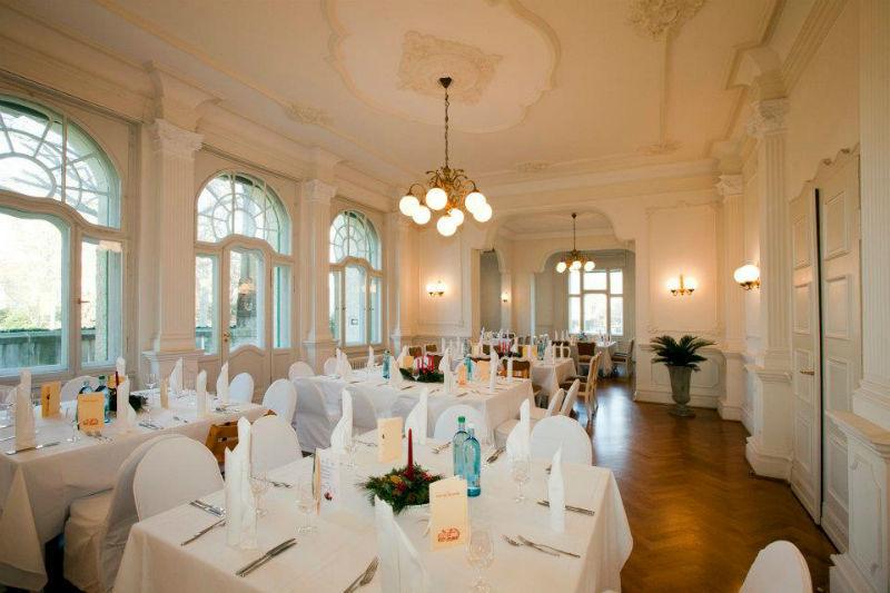 Beispiel: Speisesalon, Foto: Villa Weigang.