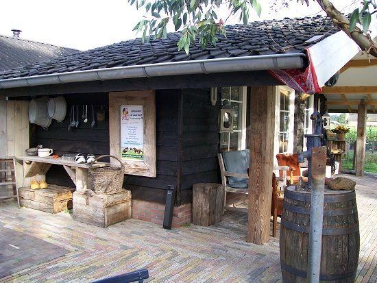 Ijsboerderij 'de oude deel'