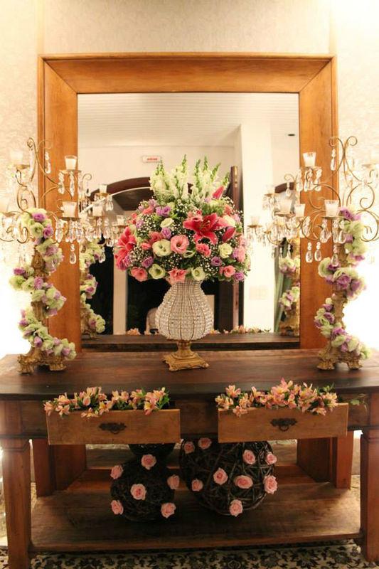 Lilac Flores Decoração