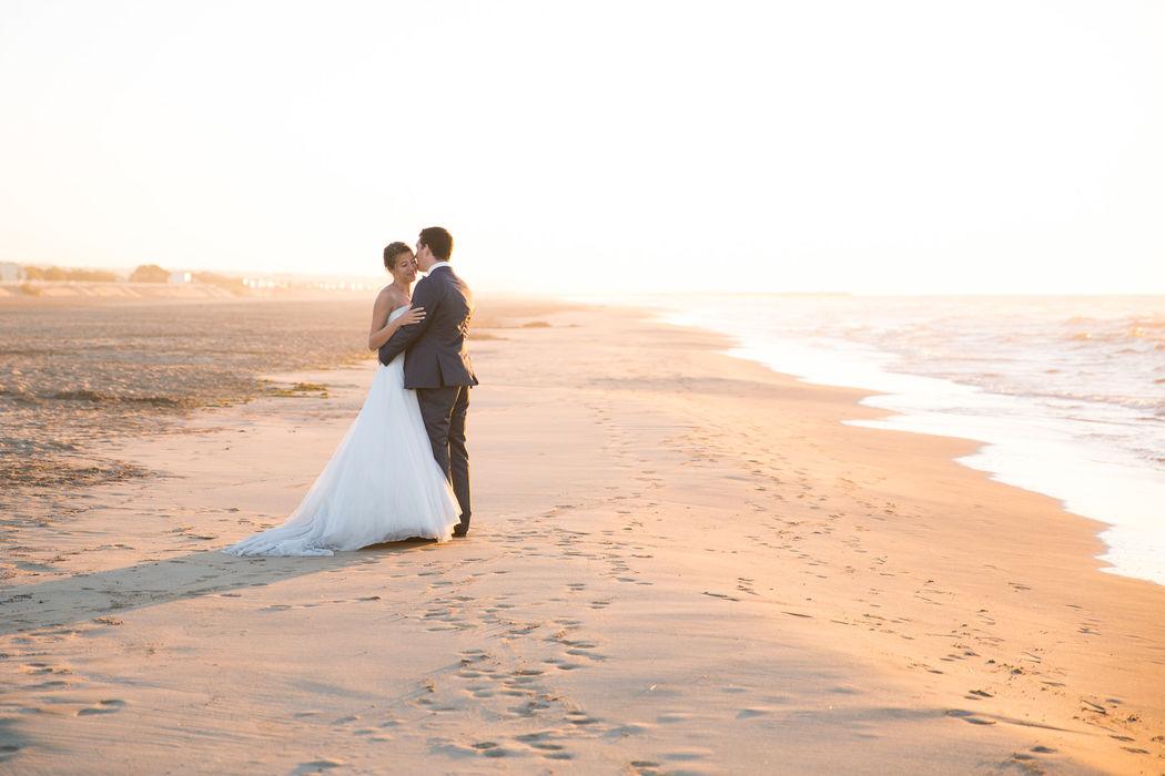 Day after sur la plage de Gruissan, lever de soleil Lucile Vives Photographe