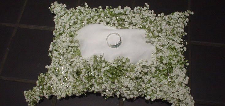 Beispiel: Ihre professionelle Hochzeitsfloristik, Foto: Blumenbinder Trittmacher.
