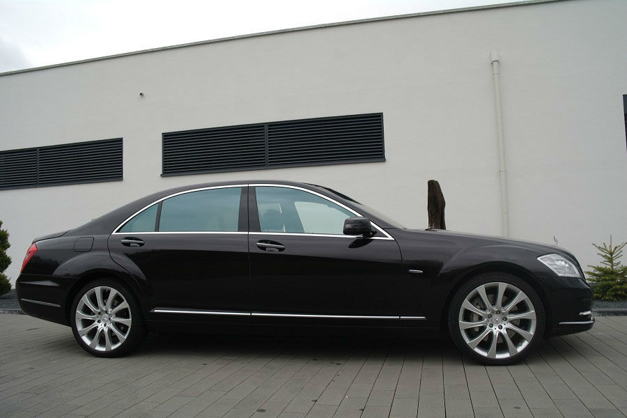 Beispiel: Mercedes S500 Lang 4 Matic, Foto: Exclusiv Autovermietung Drost.