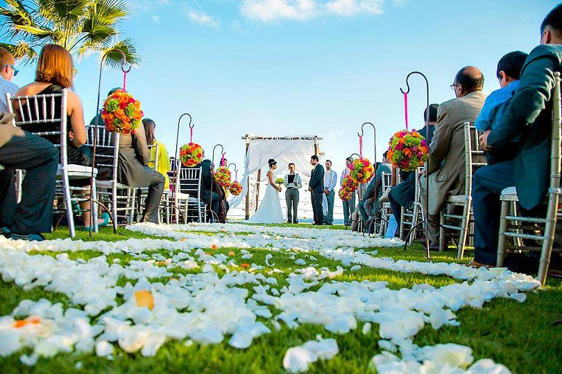 Ceremonia en jardin