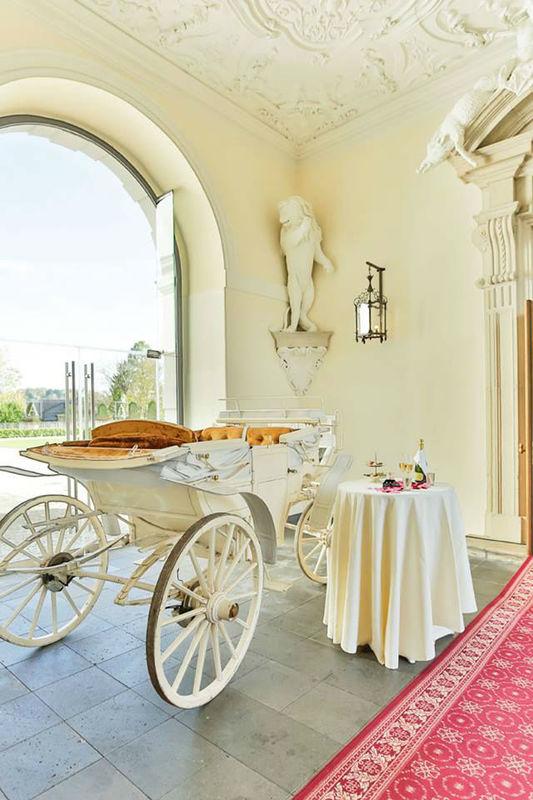 Beispiel: Hochzeitsvorbereitungen, Foto: Althoff Grandhotel Schloss Bensberg.