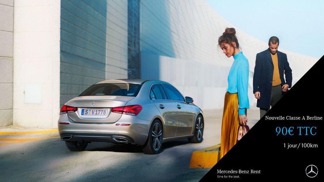 Mercedes Benz Rent Rent Paris 12