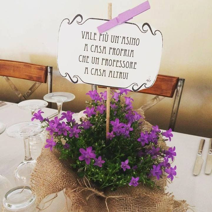 Like a Dream: allestimento tavoli