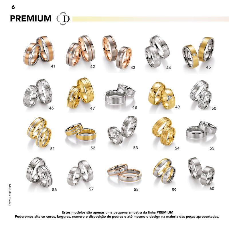 Alianças Premium