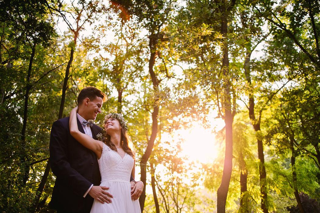 My Blue Sky Wedding