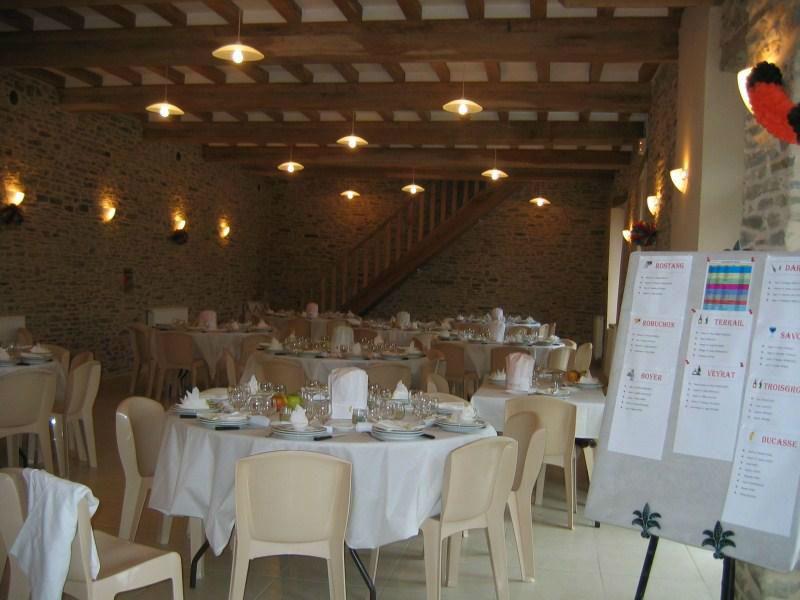 Salle de Réception - La Ferme Du Lieu D'Hommey