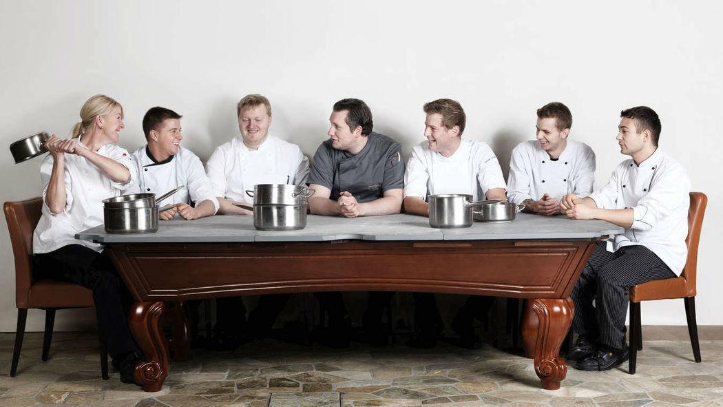 Foto: kulinarische Kunstwerke im