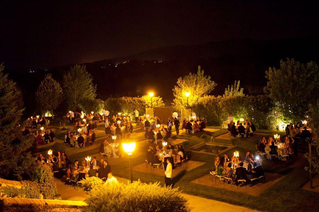 Noche  Palacio de Aldovea