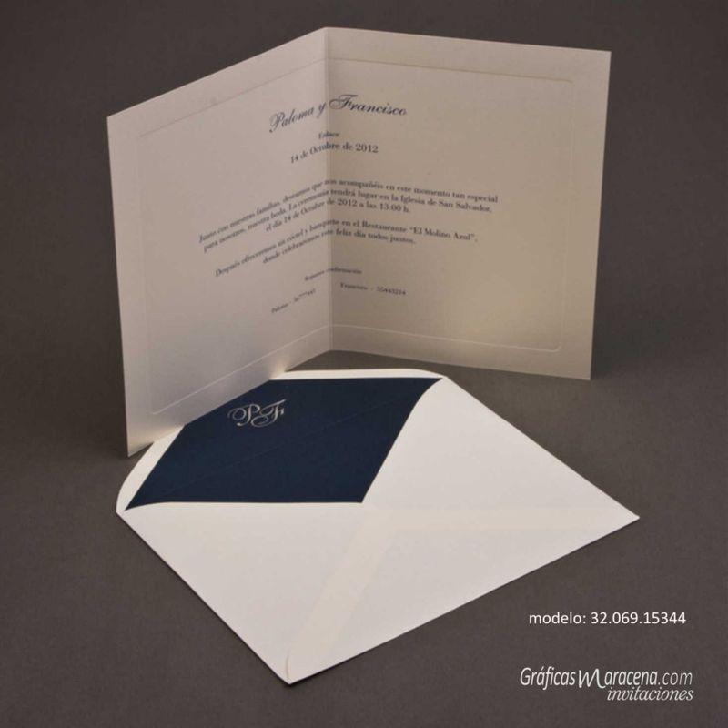Invitaciones de boda en Granada Gráficas Maracena