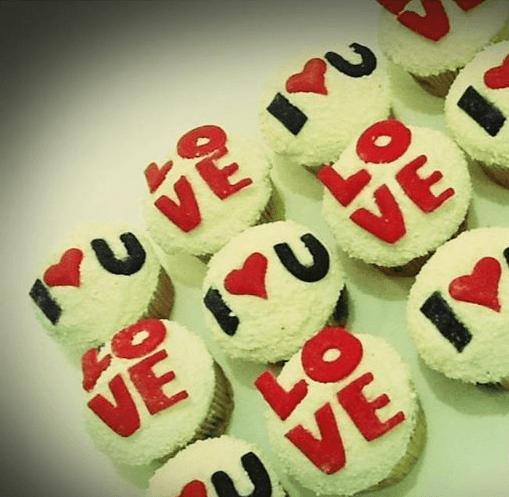 Cupcakes I LOVE YOU