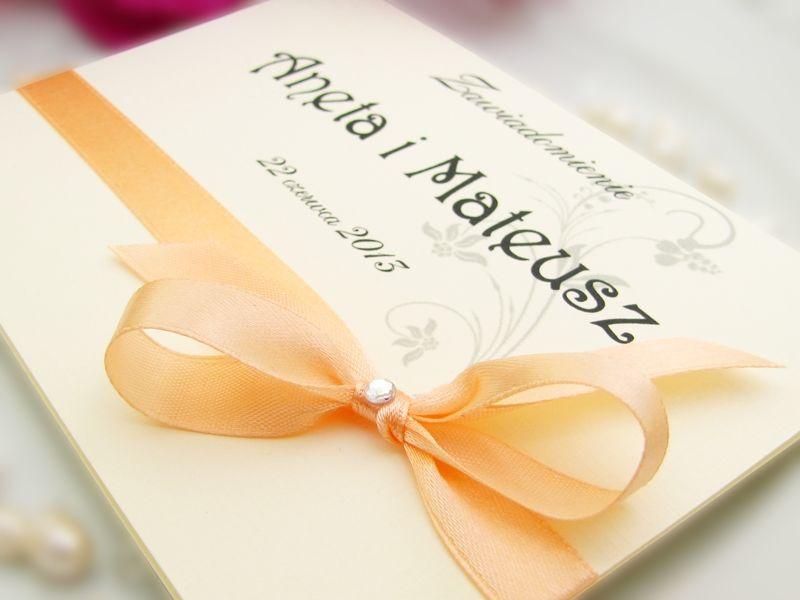 Tanie zaproszenia ślubne artMA