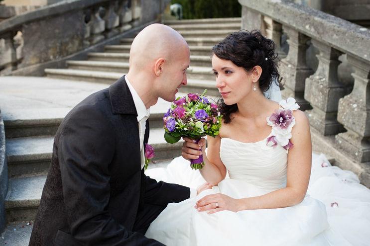 Beispiel: Portrait des Brautpaares, Foto: ggfoto - Gianni Groppello