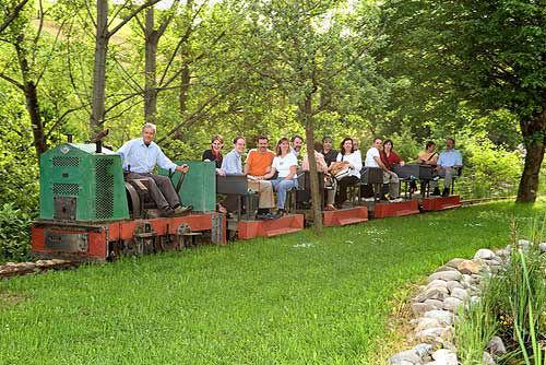 Beispiel: Stollenbahn, Foto: Bergwerksilo Herznach