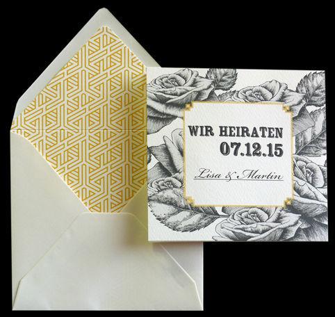 Beispiel: Ihre Einladungskarten vom Profi, Foto: Druckerei Leue.
