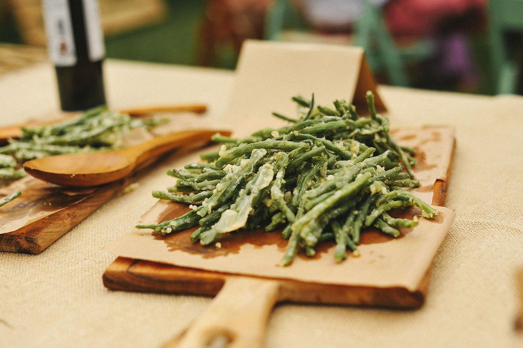 Verduras en tempura - Catering Bodas 21 de Marzo