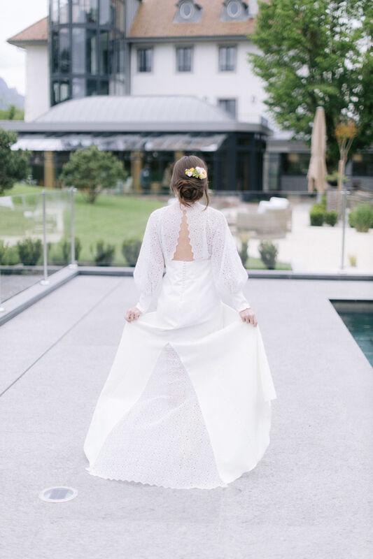 Delphine Letellier : L'Aiguille du Lac - Atelier de Mariée