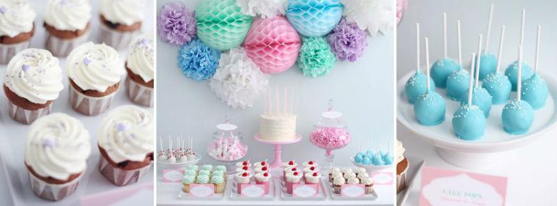 Beispiel: Candy Buffets mit verschiedenen Themen, Foto: Zuckermonarchie.