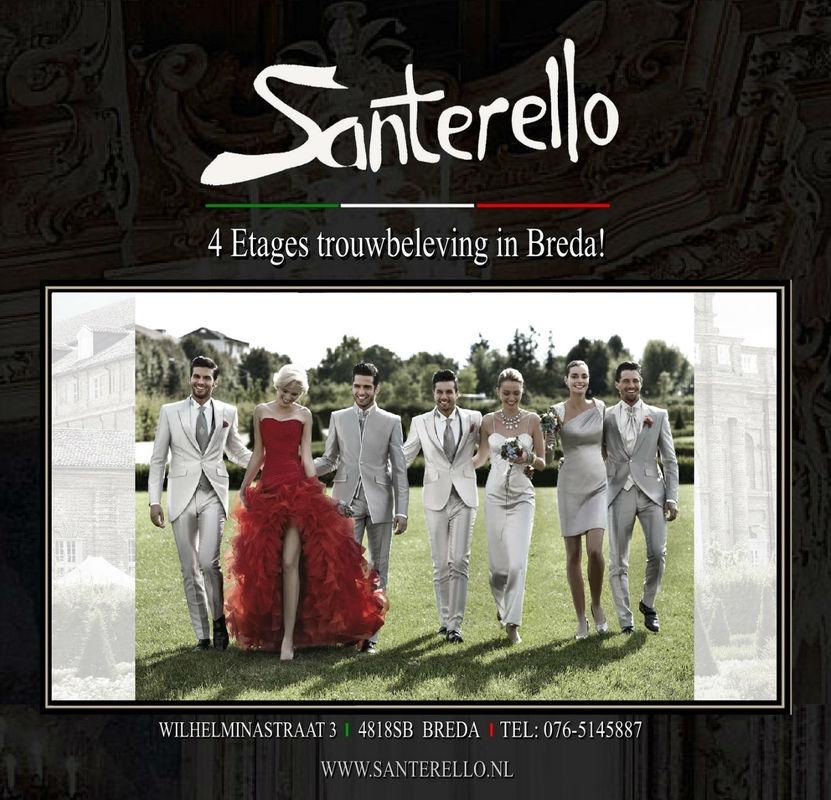 Santerello 4 etages trouwbeleving in Breda!