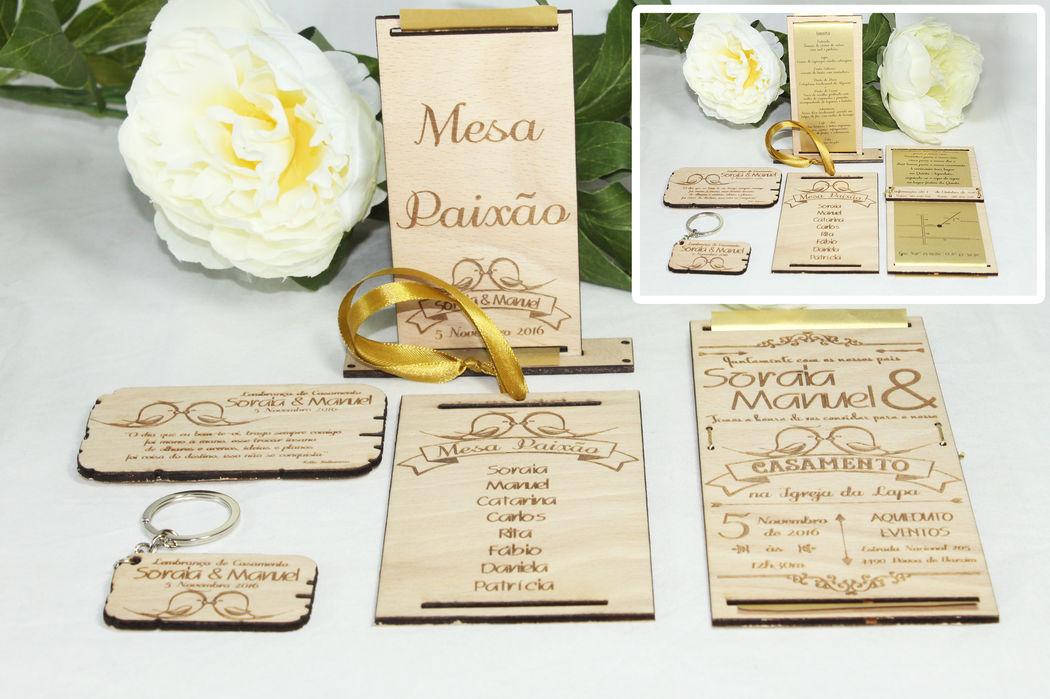 Convites de casamentos