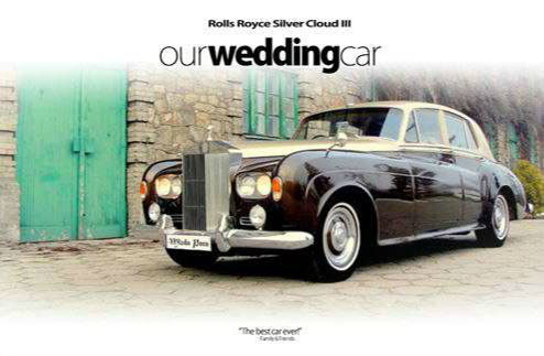 Wedding Studios auta do ślubu