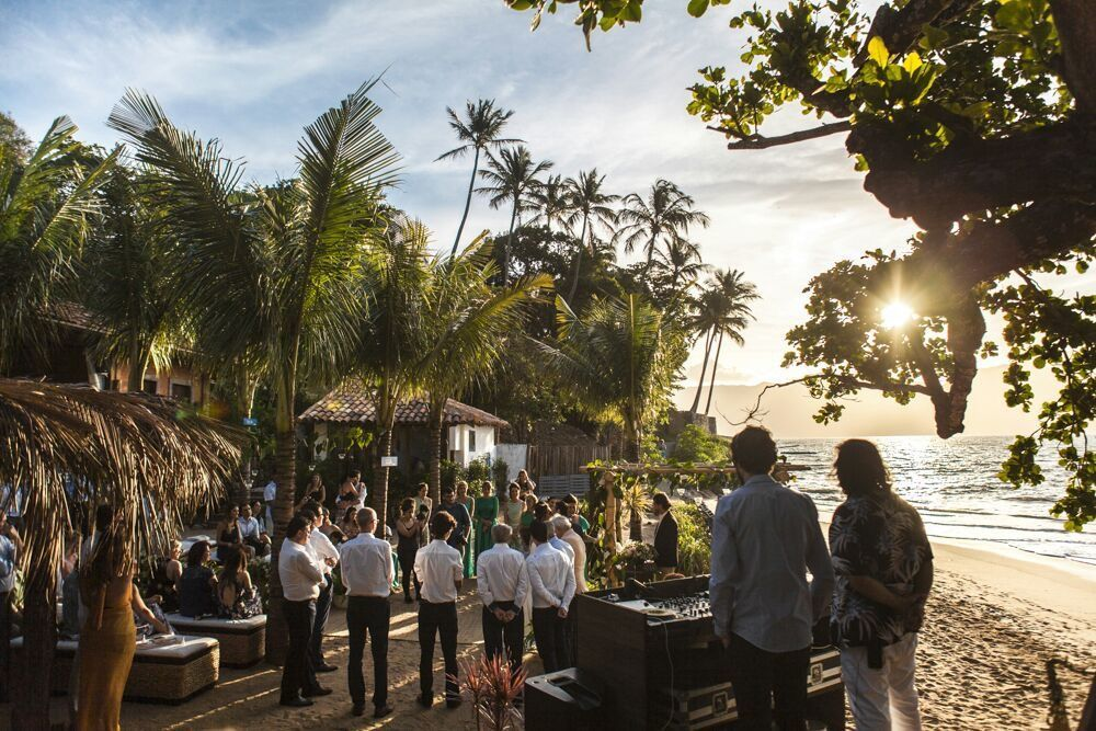 Cerimônia pé na Areia - Vila Salga