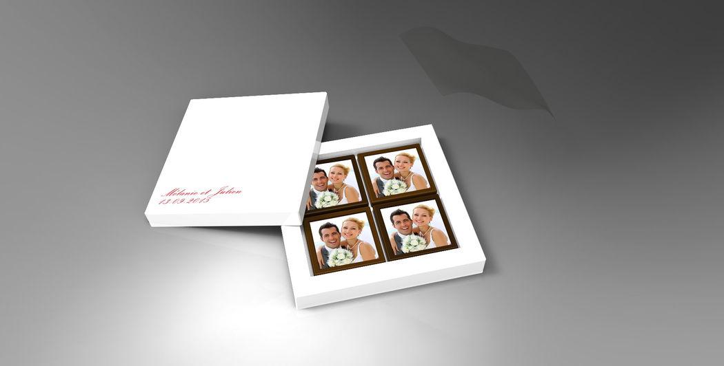 Chocolat'eMage : chocolat personnalisable