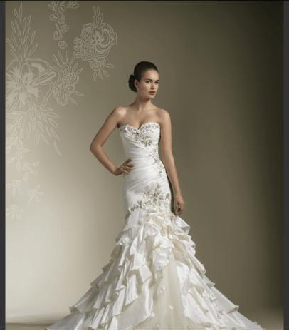 Beispiel: Traumhafte Brautmode, Foto: La Diva Brautmoden.