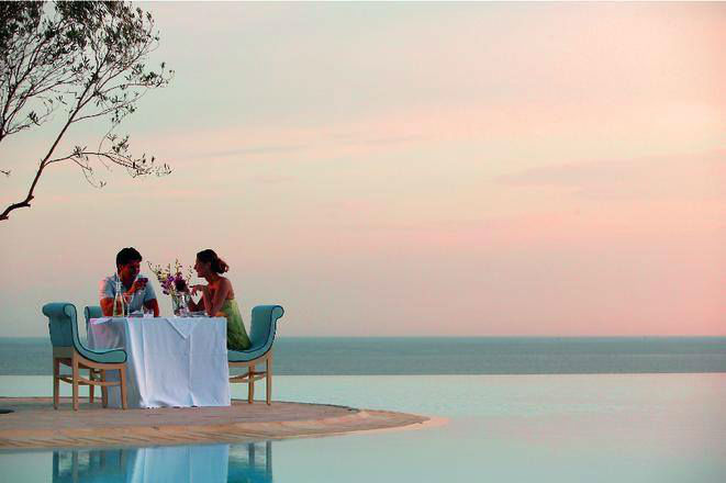 Beispiel: Romantisches Abendessen, Foto: FTI Touristik.