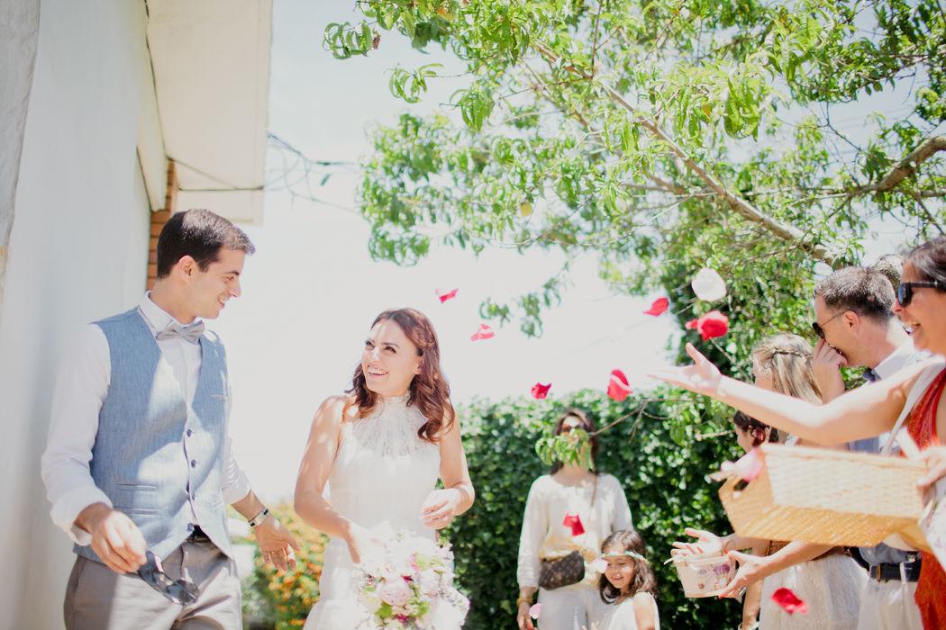 Um casamento boho chic