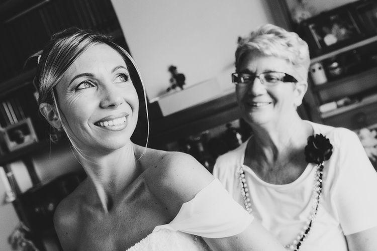 Foto sposa con mamma