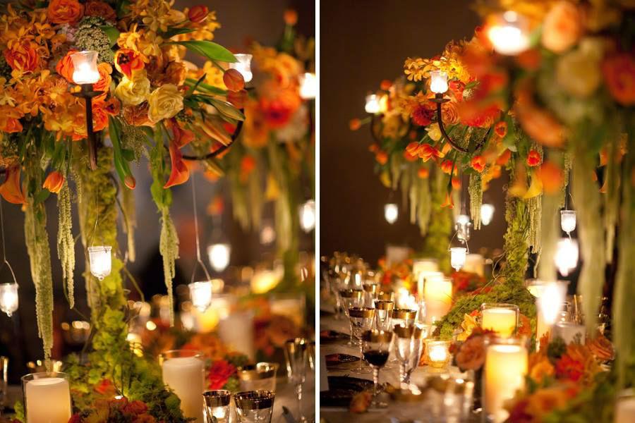 Beispiel: Wunderschöne Dekorationsideen, Foto: Hochzeitsplaner München.