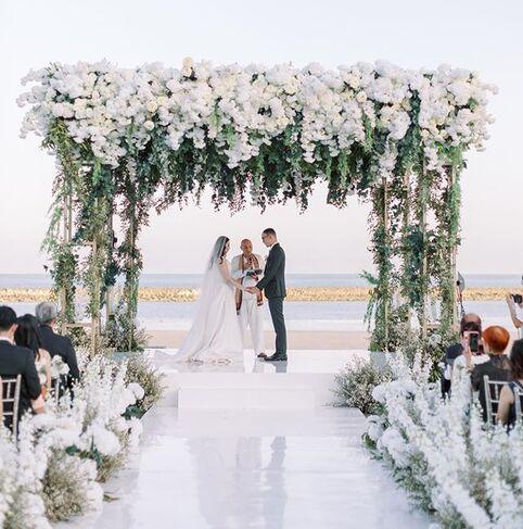 Luxury wedding Indonesia