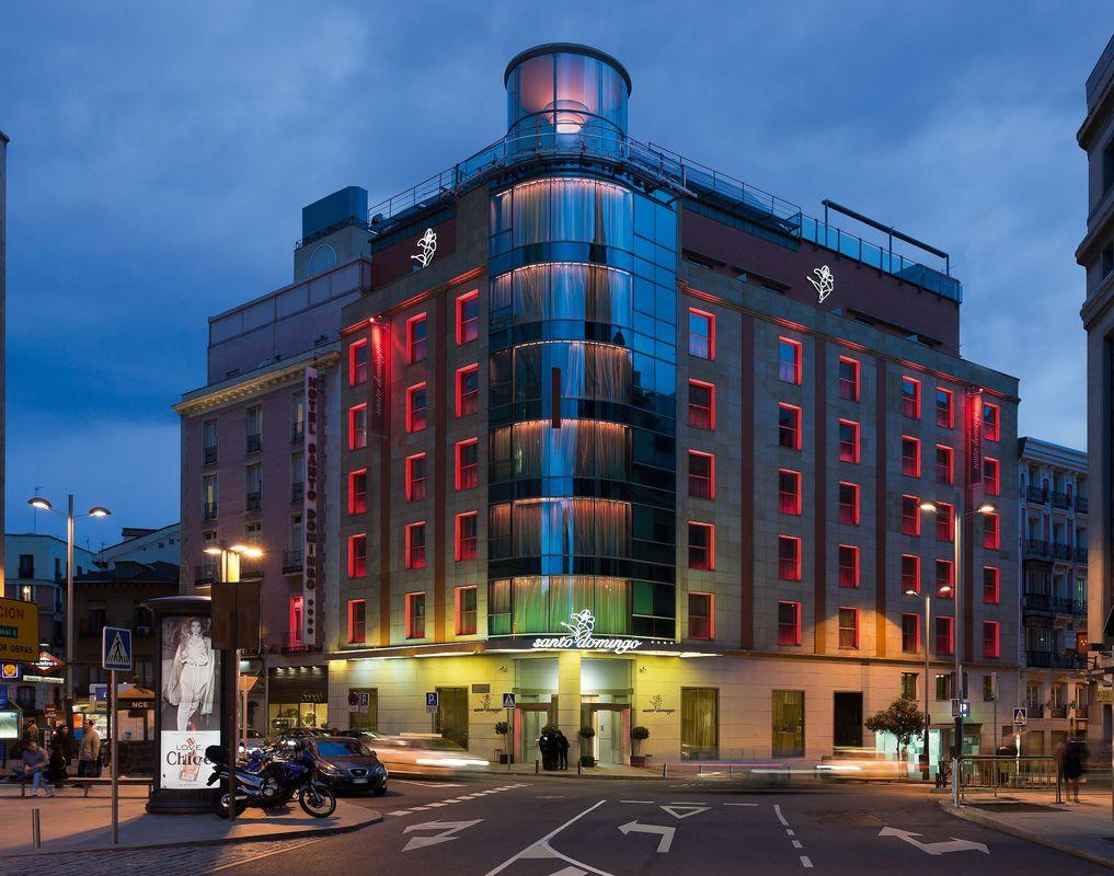 Fachada Hotel Santo Domingo