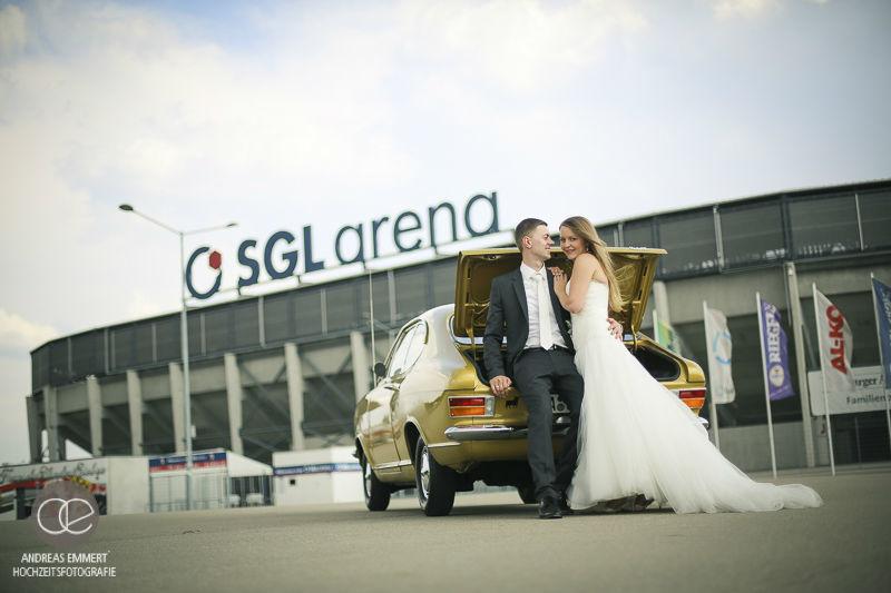 Beispiel: Kreative Hochzeitsfotografie, Foto: Hochzeitsfotografie Andreas Emmert.