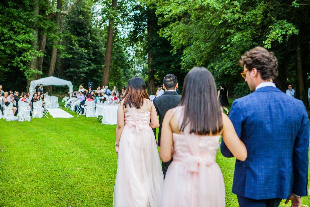 B&B Eventi Wedding - la damigelle