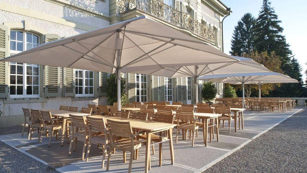 Beispiel: Terrasse, Foto: Villa Wenkenhof.