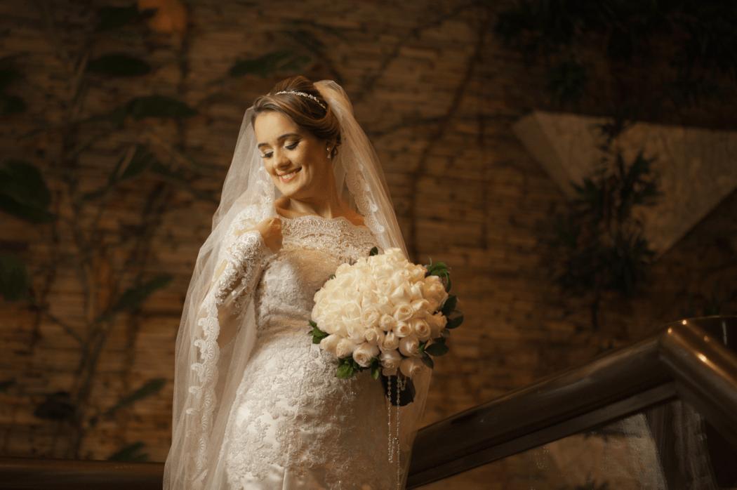 Noiva pronta para ir a igreja - Making of hotel em Boa Viagem Recife -PE