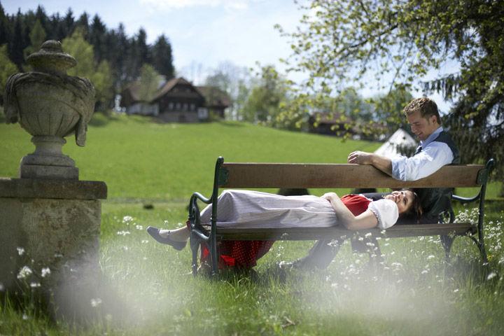 Beispiel: Park, Foto: Schlosshotel Obermayerhofen.