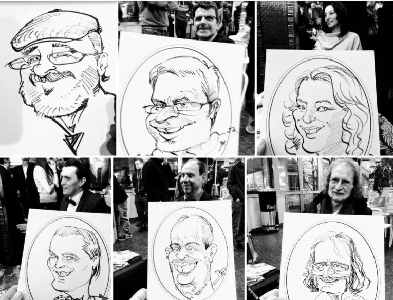 LEONARDO Hochzeitsportraitzeichner-Karikaturist-Schnellzeichner)