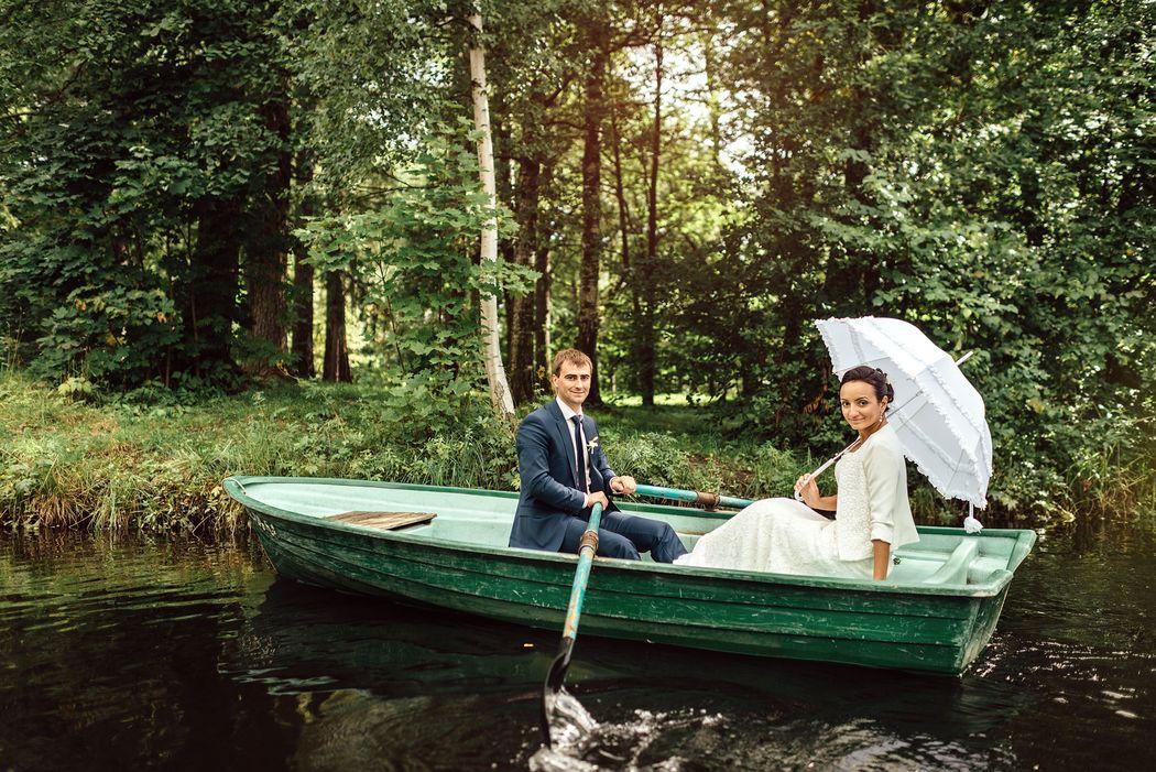 Свадебная фотосессия на Елагином острове