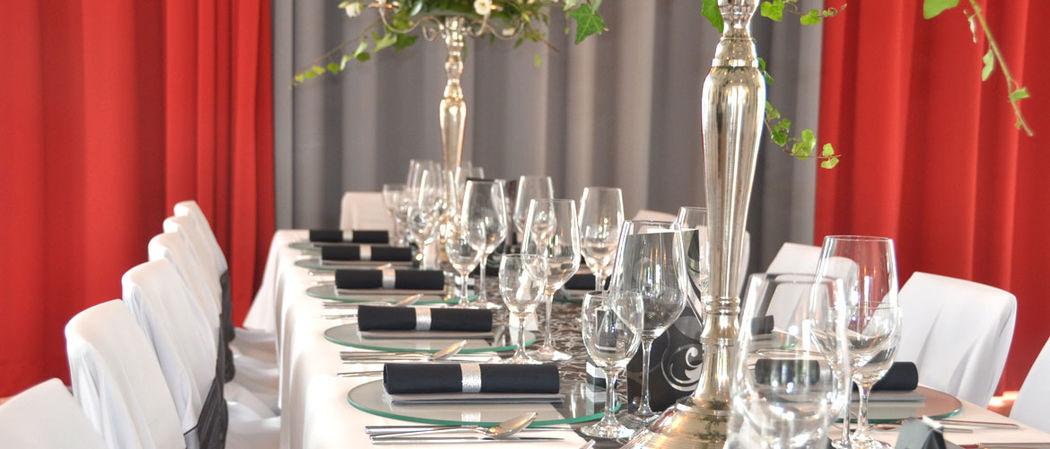 Beispiel: Tischdekoration, Foto: ALLURE Decodesign.