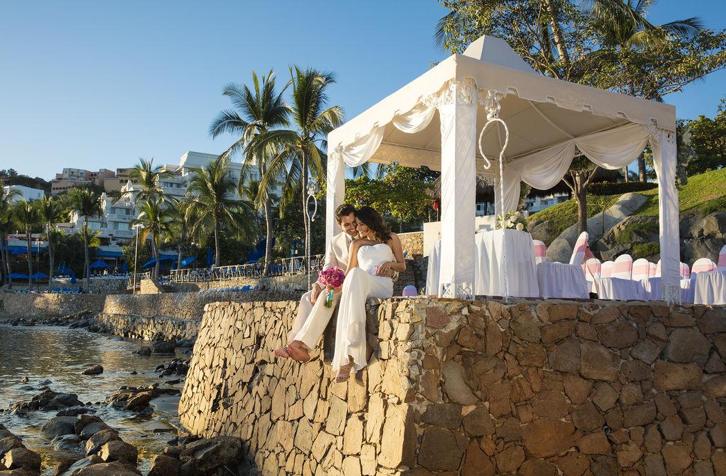 Ceremonia simbólica en espectacular Playa