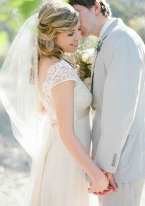 Beispiel: Brautpaar, Foto: Amormoda.de.
